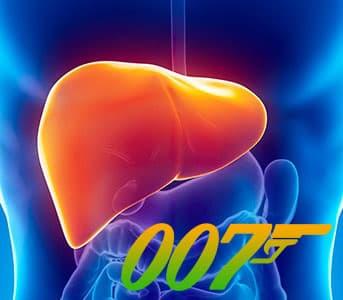 Агент 007 – Печень! И где она находится?