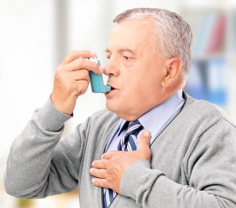 Бронхиальная астма фото
