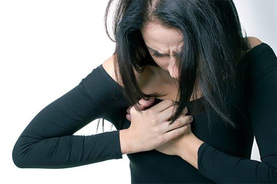 боль в груди причина приступа паники