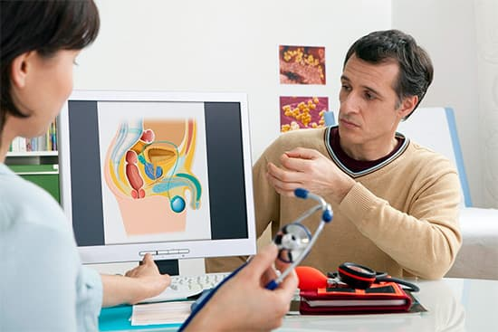 Основные причины боли в животе при простатите и методы лечения