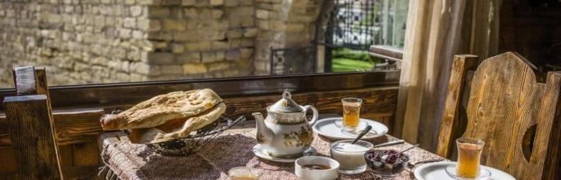 А вы видели такой завтрак? Вот такой здоровый завтрак по-дагестански!