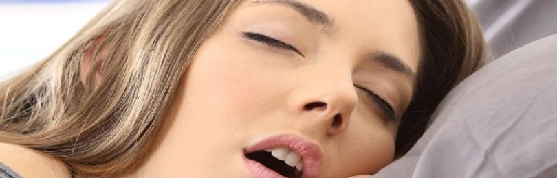 Почему во время сна течет слюна