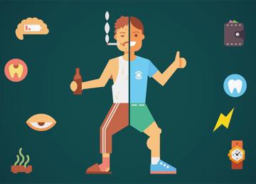 Что нас губит быстрее, чем курение и алкоголь – 5 особенно вредных привычек