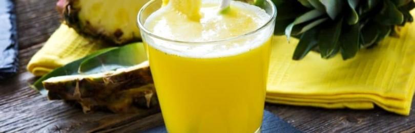 Польза сока из ананаса для мужчин