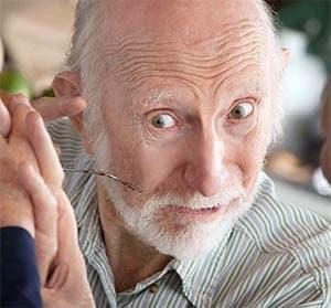 Видимый признак болезни Альцгеймера