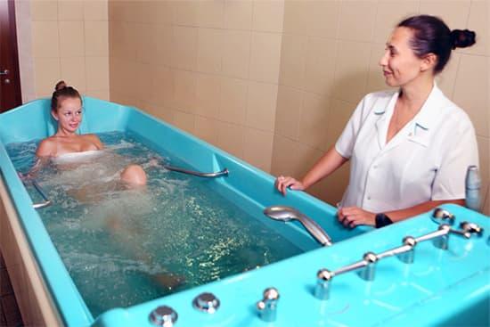 водные процедуры массаж для лечения