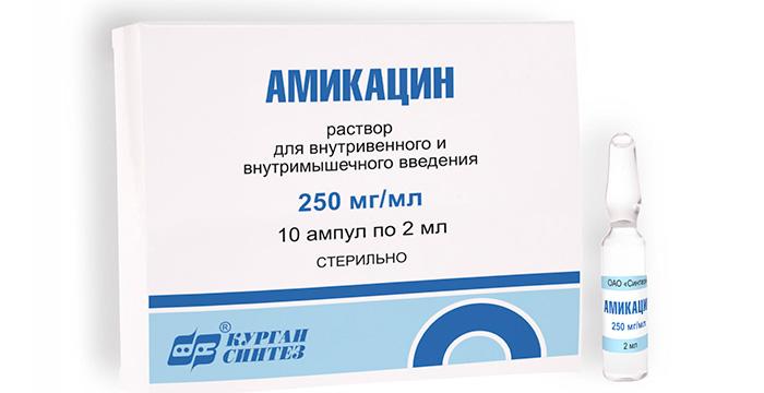 Антибиотик группы аминогликозидов