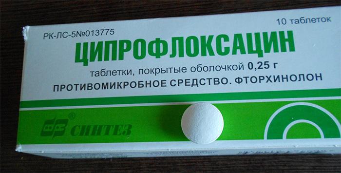 Антибиотик группы Фторхинолоны