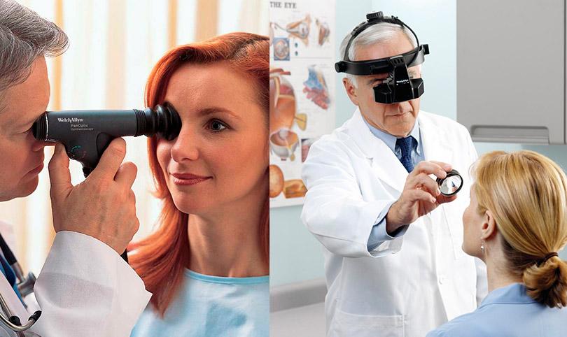 Прямая и обратная офтальмоскопии